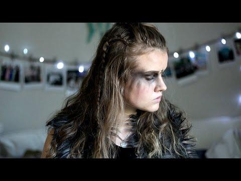 Halloween Makeup Tutorial WarriorCommander Lexa YouTube