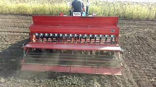 Сеялка для минитрактора (посев озимой пшеницы)