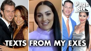 Nikki Bella reveals how Artem feels about ex John Cena's text | Page Six Celebrity News