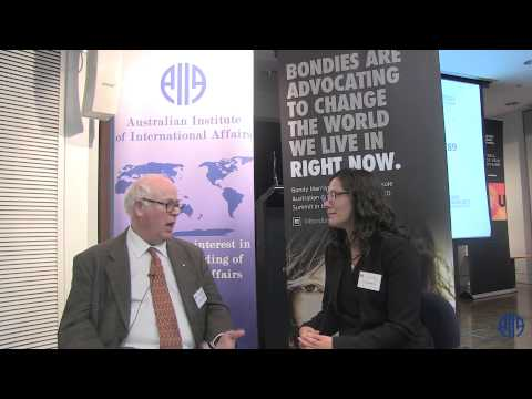 Interview with William Maley at the Australian Diplomacy Today Symposium  28 August 2015