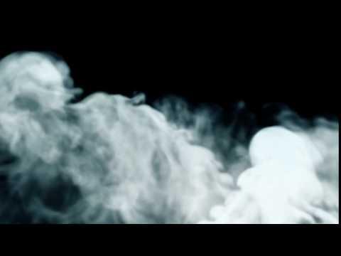 Футаж дыма/белый дым/горение/Футаж.