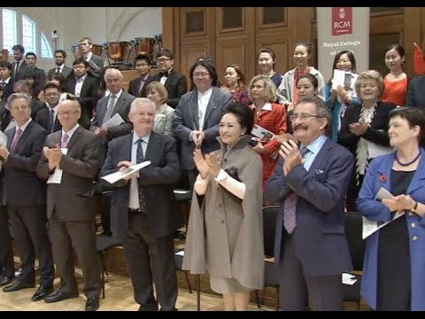 Chinese First Lady Visits Royal Academy of Music in London