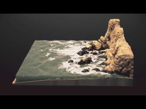 Houdini FLIP Ocean Shoreline v02