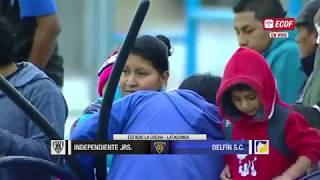 Copa Ecuador  Ind. Juniors Vs Delfín  4tos De Final  Ida
