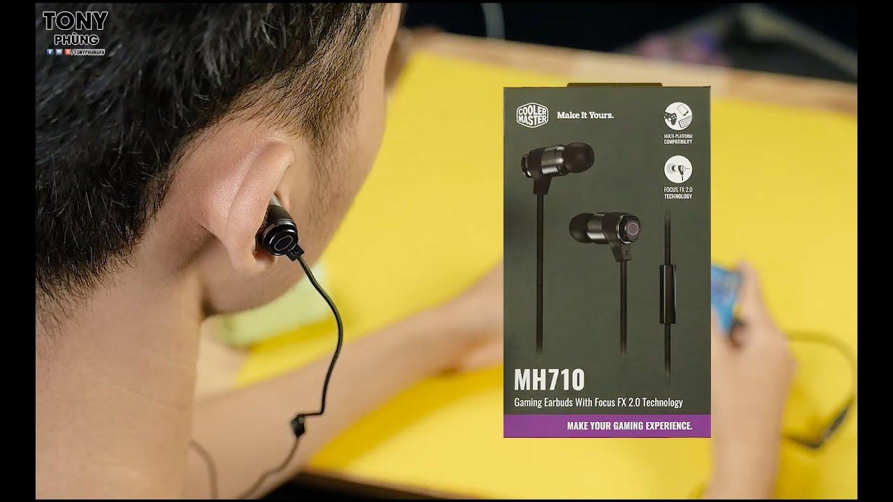 Tai nghe Gaming mà nghe nhạc PHÊ đừng hỏi! Cooler Master MH710