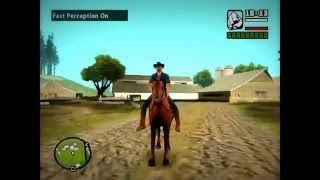 Gta San Andreas 1# Мод Лошадь