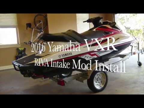 Yamaha 2016 VXR Riva Ribbon Delete Install