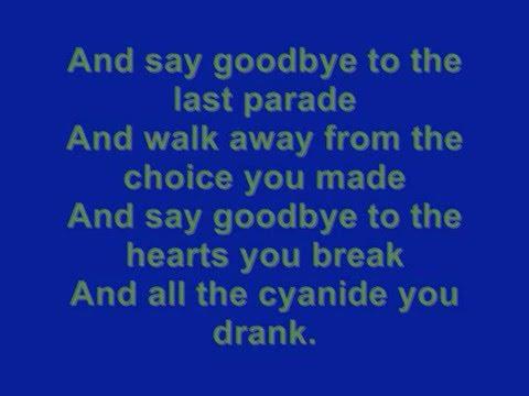 To The End lyrics (MCR)