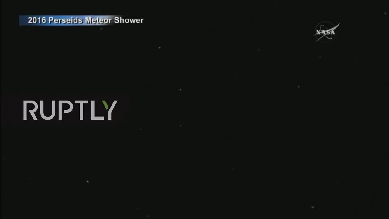 Perseid Meteor Shower Nasa