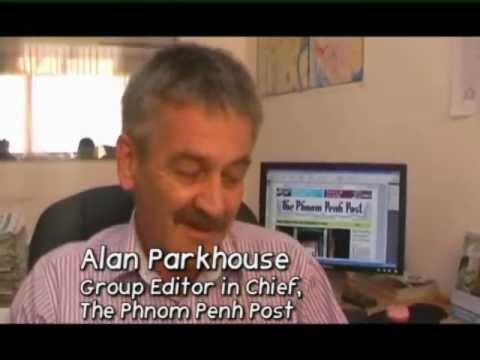 Profiling the Phnom Penh Post's Alan Parkhouse—on RodMcNeil.TV