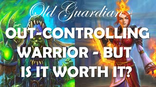 Control Shaman out-controlling Control Warrior (Hearthstone Rise of Shadows gameplay)