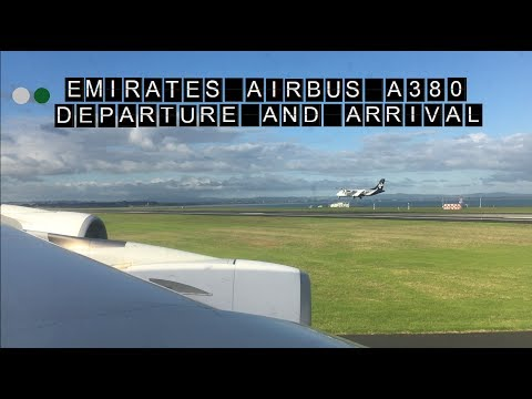I Departure And Arrival I Emirates A380 I Auckland (AKL) To Sydney (SYD)
