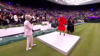 Paloma Faith performs at Wimbledon's No.1 Court Celebration