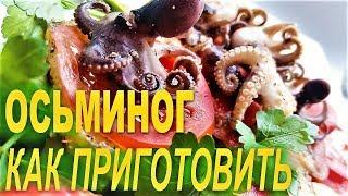 Как приготовить осьминога. С чем и как съесть спрута.