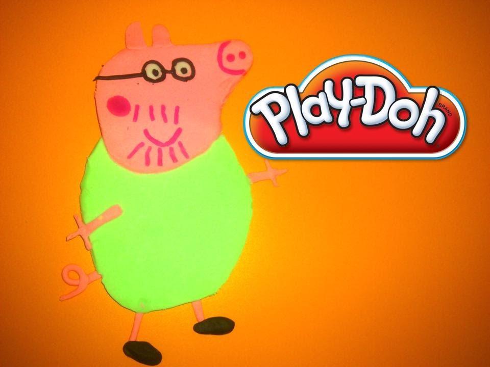PLAYDOH PAPA PEPPA PIGJUEGOS DE PLASTILINA PEPPA PIGMODELADO DE