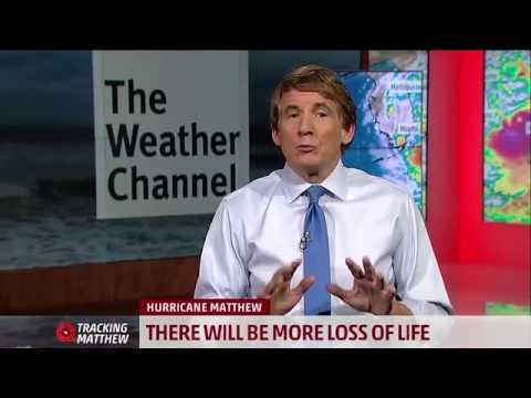 Urgent message from The Weather Channel for Those in the Path of Hurricane Matthew