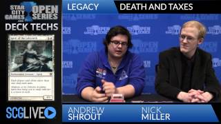 SCGNASH Deck Tech - Death and Taxes with Andrew Shrout