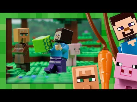 The Melon Farm - LEGO Minecraft - 21138 - Stop Motion