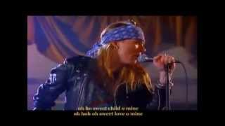 Guns N Roses-Sweet Child O Mine(Long Full Version with Lyrics)