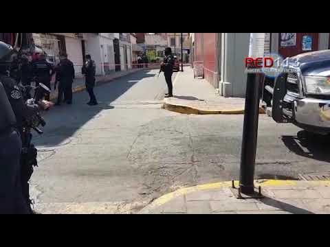 VIDEO Balean a hijo de regidor en el centro de Zamora