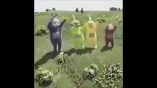 Teletubbies dancing dubstep