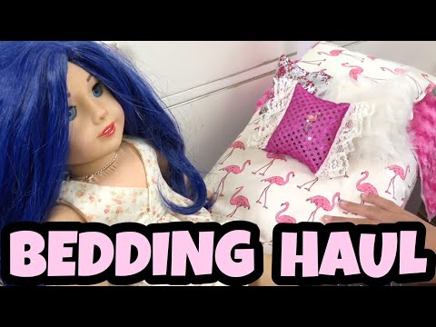 Awesome American Girl Doll Bedding Haul