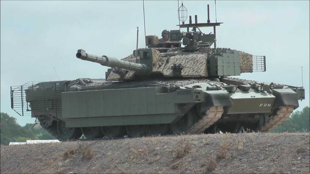 c2ad123e1670 Tankfest 2013 Challenger 2 MBT (ULTRA MODERN VERSION) - YouTube