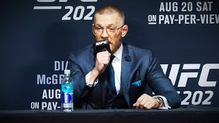 UFC 202: Conor McGregor Reacts to Win Over Nate Diaz