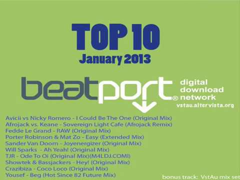 Beatport Top 10 (12 January 2013) [TORRENT] Full Music