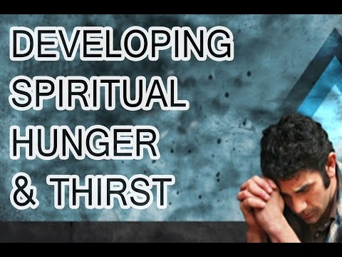 20170318 l KSM l Telugu l Keys to Developing Spiritual Hunger & Thirst l Pas. Michael Fernandes