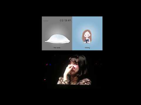 180920 Tiffany Reacts to VCR - TIFFANY YOUNG Asia Fanmeeting Tour in Bangkok