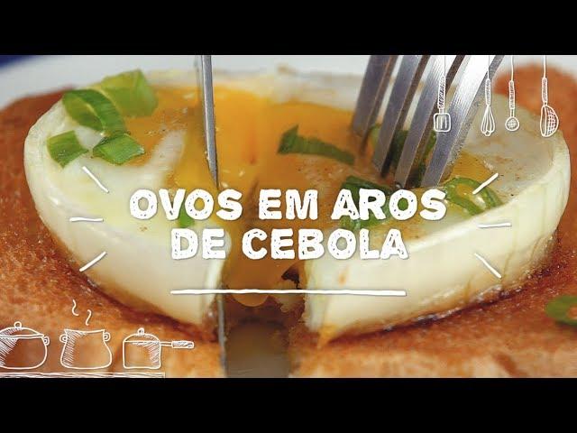 Ovos em Aros de Cebola - Sabor com Carinho (Tijuca Alimentos)