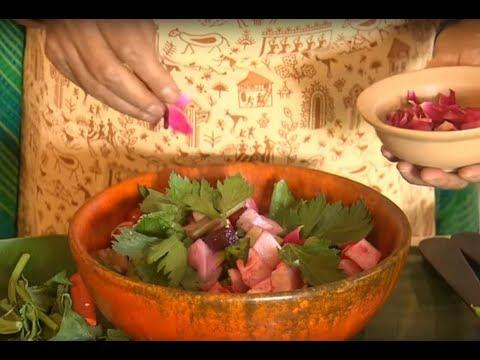 छत पर बागवानी - छत पर उगाई सब्जियों से कैसे बनाऐ एक्साँटिक सलाद