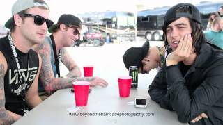Sleeping With Sirens Warped Tour Interview 2012