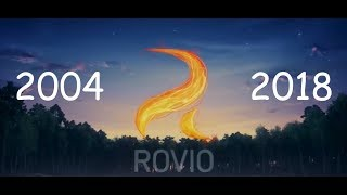 Evolution Of Rovio  Games - 58 Games From 2004 To 2018