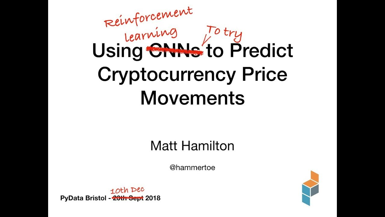 predict cryptocurrency price machine learning