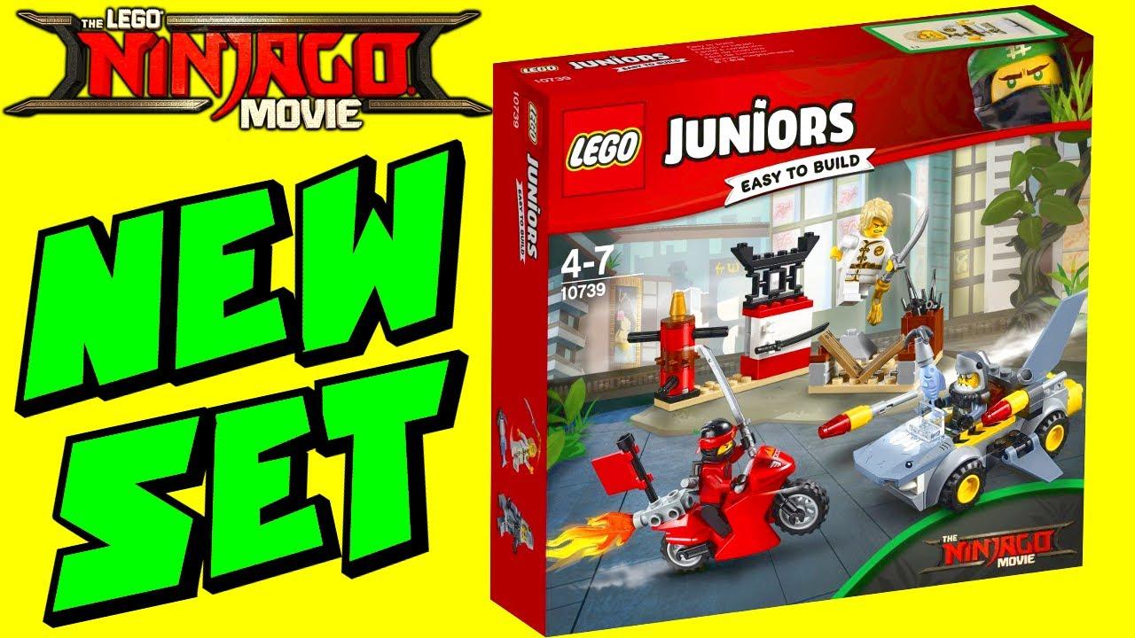 new lego ninjago movie shark attack juniors set 10739