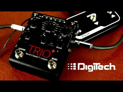DigiTech TRIO+ Band Creator + Looper Demonstration Video