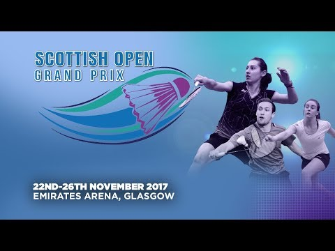 Scottish Open Grand Prix - Day 1 | LIVE