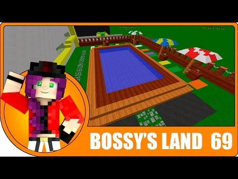 LA PISCINA DEL HOTEL! | Bossy's Land Ep.69 | Minecraft Creativo con Lady Boss