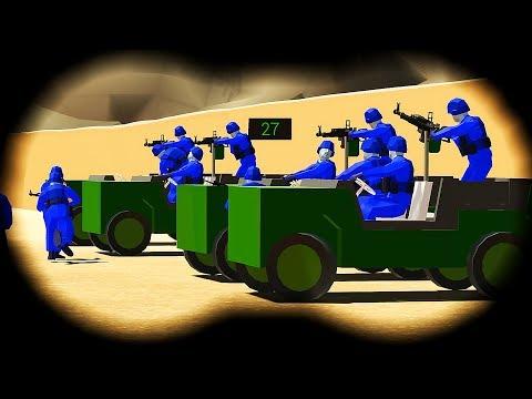 РАЦИЯ и БИНОКЛЬ. НОВАЯ ПУСТЫННАЯ  КАРТА - Игра Ravenfield Битва солдатиков в РЕВЕНФИЛД