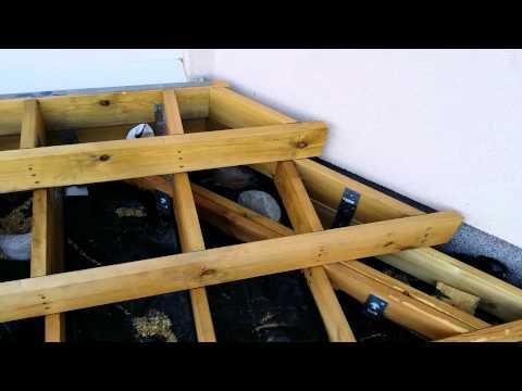 Budowa Tarasu Drewnianego Część 1 Fundamenty Schodów