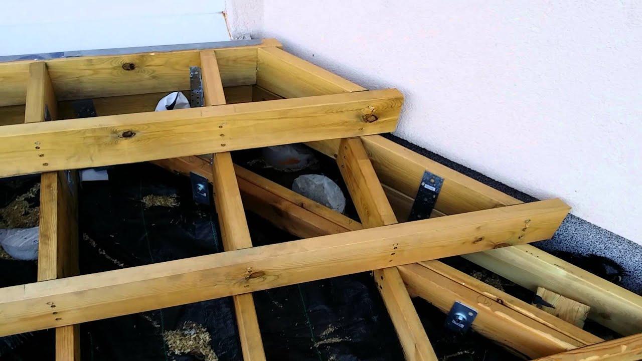 Budowa Tarasu Drewnianego Część 1 Fundamenty Schodów Wykuszu