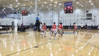 Highlights Arlington Elite U17 Boys Volleyball v SOSVBC U18 Midatlantic Classic Dec 15 2018