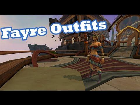 Runescape , Fayre Outfits! , Dancer, Menowin, Venturer