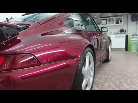 Detailing su Porsche 911 993 Carrera 4S del 1996