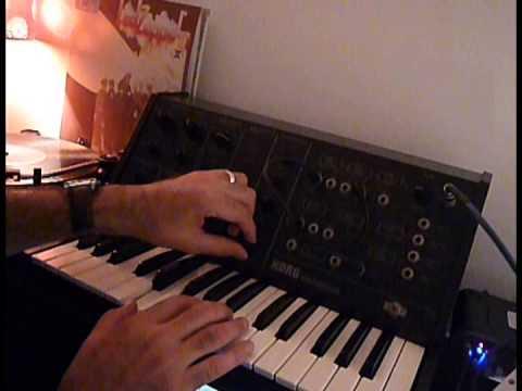 KORG MS10 - Legendary Monophonic Synth - DEMO