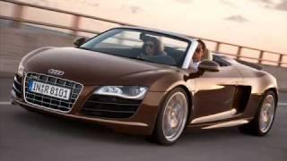 2011 Audi R8 Spyder 5.2 FSI Quattro Videos