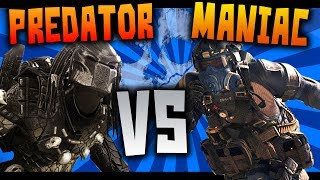 Predator Vs Maniac - Vida, Velocidad, Daño, Epic Battle! - Call Of Duty Ghosts