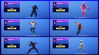 *NEW* DANCE THERAPY EMOTE With ALL MAIN SKINS! (Showcase) Fortnite Battle Royale